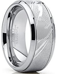a5e35df038c4 Metal Masters Co. Men s Tungsten Carbide Wedding Band Ring