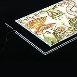 Aibecy Tableros de Dibujo /Tracing Pad Caja -15 Pulgada 35.2 * 24cm LED,Diseño Delgado