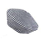 LMZXH&M Baskenmütze Hut Stroh Barett Für Frauen, als Bild
