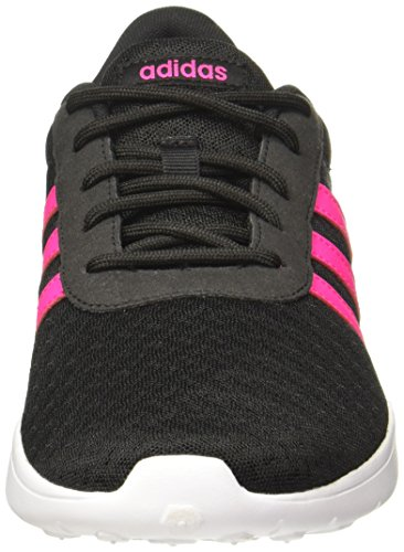 adidas Damen Lite Racer Fitnessschuhe Schwarz (Core Black/shock Pink S16/ftwr White)
