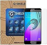 G-Shield Verre Trempé Samsung Galaxy A3 2016, Film Protection en Verre Trempé écran Protecteur [Ultra Résistant Dureté 9H] [Anti Rayures] [Sans Bulles D'Air] Pour Samsung Galaxy A3 2016