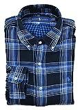 Ralph Lauren Hemd Button Down Flanell Schwarz Blau Weiß Kariert