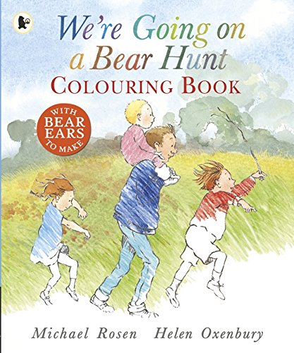 We're Going On A Bear Hunt. Colouring Books