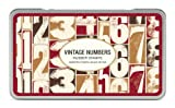 Cavallini Papers Rubber Stamps - Stempelset - Vintage Numbers