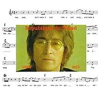 I Beatles francobolli per collezionisti - John Lennon Imperforate miniatura francobollo minifoglio - condizione Superb e mai incernierate - 2013 / Ciad / 1000F