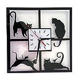 SM SunniMix Schwarze Katze Wandschalter Aufkleber Lichtschalter Lichtschalteraufkleber