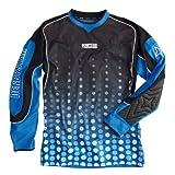 Derbystar Torwart Trikot Fuego Xxl, XXL, blau schwarz, 6604070620