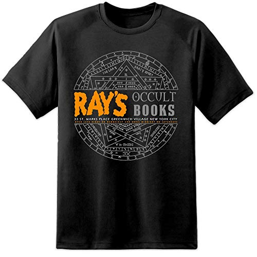 Digital Pharaoh - Schwarz Herren Rays Occult Ghostbusters 2 Film T Shirt (3XL) - Ghostbusters T-shirt Tee