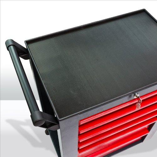 Werkstattwagen Michael 4+2 rot grau Werkzeugwagen Werkstatt zur Auswahl - 7