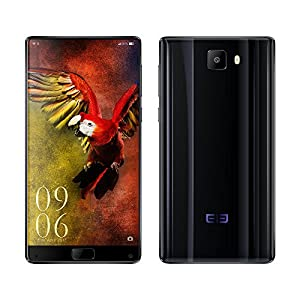 Elephone S8 Unlocked 4G Smart Phone 6.0inch 2K Screen with Corning Gorilla Glass Android 7.1 Helio X25 Deca Core 4GB RAM + 64GB ROM 2.5GHz Front Camera 8.0MP + Rear Camera 21.0MP 4000mAh Mobilephone