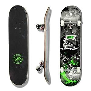 Clans Skateboard Komplettboard Pirate Attack 8.0 x 31.0 inch – Komplett Skateboard