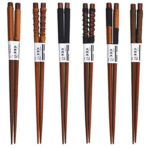 10 pares de acero inoxidable palillos de sushi antideslizante palillos palillos de cocina casera vajilla