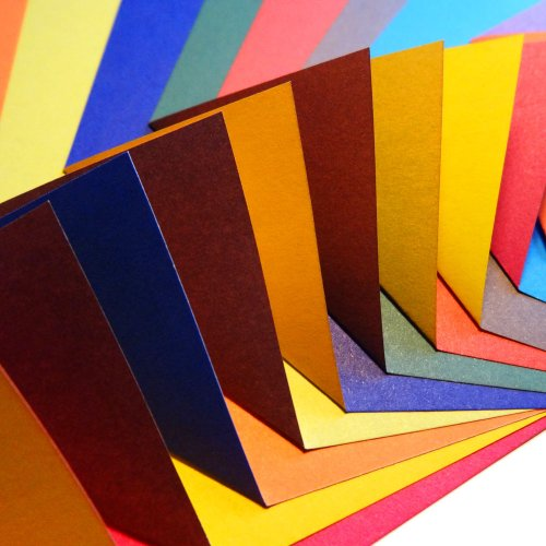 Origamipapier 100 Blatt Kontrastfarben Contrasting Colour Collection
