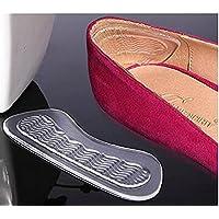 Ferse grips-3Paar Silikon Transparent Selbstklebend Soft Foot Care Displayschutzfolie Einlegesohle rutschsicher... preisvergleich bei billige-tabletten.eu