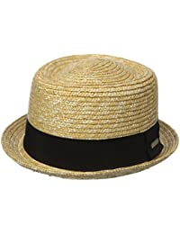 Kangol Wheat Braid Porkpie, Sombrero Pork Pie Unisex Adulto