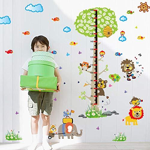 n Tier Karneval Baum Höhe Aufkleber Kinderzimmer Kindergarten Veranda Layout Hintergrund Dekoration ()
