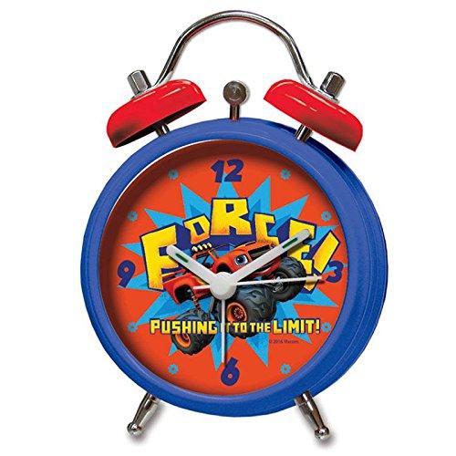 CYP Imports RD-01-BZ Reloj Despertador Campanas, diseño Blaze and The Monster Machine, Sintético...