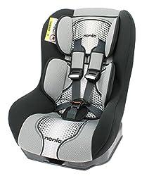 Osann Kinderautositz Safety Plus NT Pop Black schwarz grau, 0 bis 18 kg, ECE Gruppe 0 / 1, von Geburt bis ca. 4 Jahre, reboard bis 10 kg nutzbar