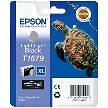 Epson T1579 - Print cartridge - 1 x light light black
