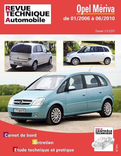 Revue Technique B743.5 Opel Meriva 01/2006>06/2010 1.3 Cdti