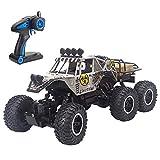 Luccky Juguetes para niños 1:10 RC Racing Cars Buggy 6WD RC Off-Road Remote Control Cars 2.4GHz Crawlers Off-Road Vehículo de Control Remoto Coches de Escalada para niños Niños Chicas Adultos Regalos