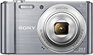 Sony Cybershot DSC-W810/SC 20.1MP Digital Camera with (Silver)