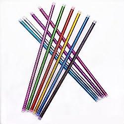 XIHAA Jazz Dance Stampella Props Dance Balance Practice Straight Stick Belly Dance Flower Stick Adulto Bambini Canna (10 Roots),XXL