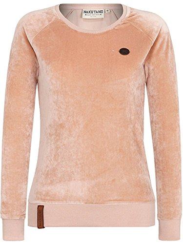 Naketano Female Sweatshirt Mackin da Hoes Dusty Pink