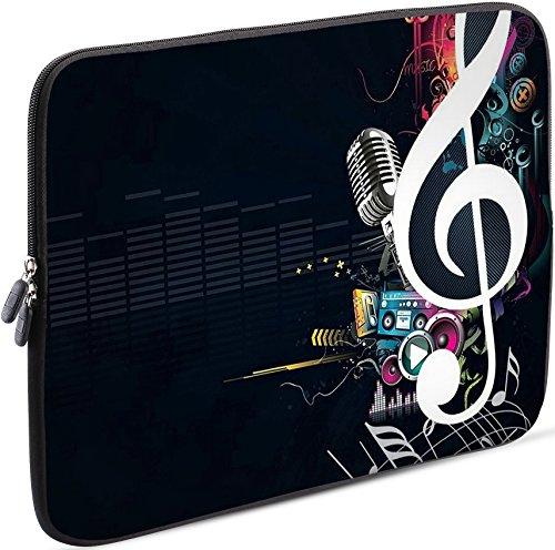 Ultra-portable Tablet-pc (Sidorenko Tablet PC Tasche für 7-8 Zoll | Samsung Galaxy Tab 3 / Apple iPad mini | Universal Schutzhülle | Hülle Sleeve Case Etui aus Neopren, Schwarz)