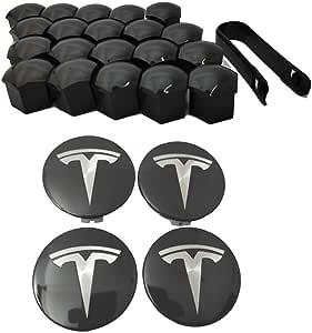 S /& X Aero-Radkappensatz Radkappen F/ür Tesla Model 3 Nabendeckel NABENKAPPEN Stilvolles Design Radnabenkappen FORYOURS Felgendeckel
