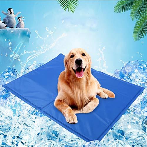 Cooling Pad FüR Hunde, Keine Notwendigkeit, Einzufrieren Oder Chill, Dog Gel Pads Halten Sie Ihr Haustier Cool, Druck Aktiviert Gel Dog KüHlmatte, Gebrauch Innenaufnahme, Im Freien Oder Im Auto,M - Hitze-beweis-matte