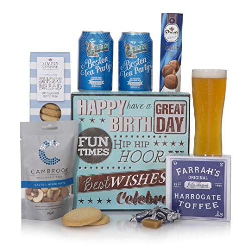 Birthday Beer Hamper - The Perfect Gift Hamper To Say Happy Birthday - Birthday Hampers and Celebration Gift Baskets