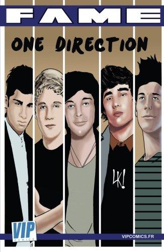 Fame One Direction: La biographie de One Direction en B.D.
