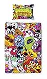 Character World - Set piumino singolo Moshi Monsters Moshlings, 135 x 200 cm