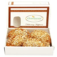Ghasitaram Gifts Holi Sweets-Ghasitaram's Roasted Oats Gujiya 200 GMS