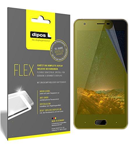 dipos I 3X Schutzfolie 100% passend für Doogee X20L Folie (Vollständige Bildschirmabdeckung) Bildschirmschutzfolie