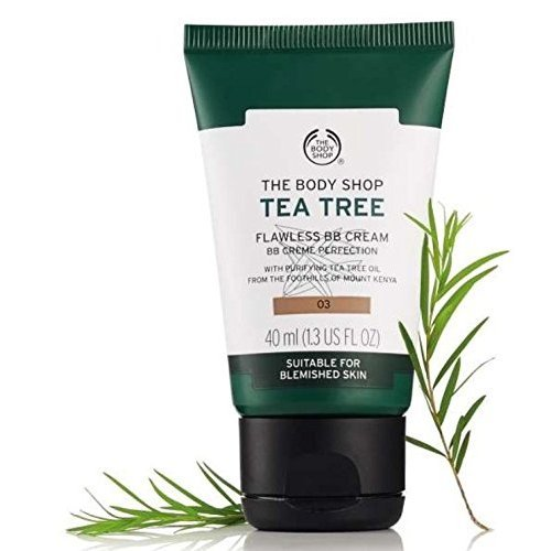 03 - Dark - The Body Shop Tea Tree Flawless BB Cream
