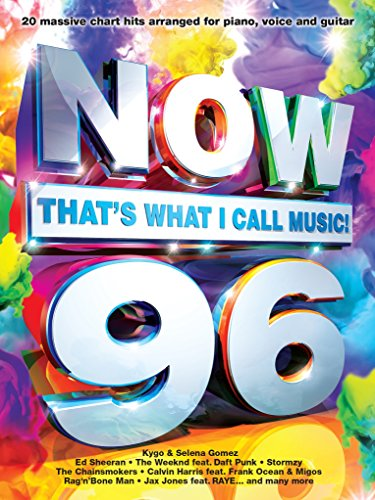 Now That's What I Call Music 96 (Bruno Mars Sheet Music)