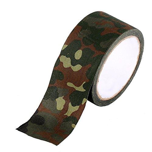 10m Camouflage Wrap Tape Tarnband für Outdoor Jagd Gewehr Pistole Zoomkamera Tarnen von Gegenstände ( Design : German Spot Camouflage )