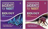 MASTER THE NCERT For NEET BIOLOGY VOL-1 & Vol-2 (Set of 2 bo