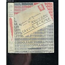fcd8fd3bd37 Amazon.fr   Paul Reboux Le nouveau savoir-écrire   Livres