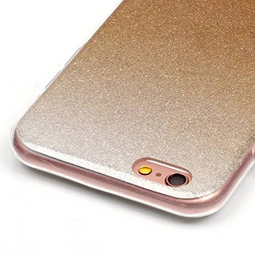 YAN Für iPhone 6 / 6s, IMD Color Fades Glitter Powder TPU Schutzhülle YAN ( SKU : IP6G8686N ) IP6G8686S