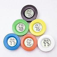 AOTUO Portable Mini Digital LCD Indoor Convenient Temperature Sensor Humidity Meter Reptile Pet Thermomet Hygrometer Gauge