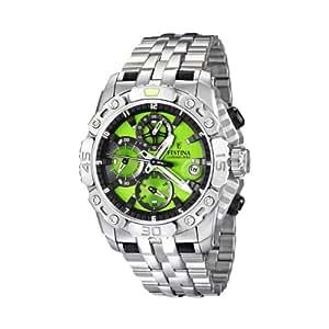Festina - F16542/8 - Montre Homme - Quartz Chronographe - Bracelet Acier Inoxydable Argent