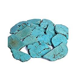 Losa de turquesa azul...