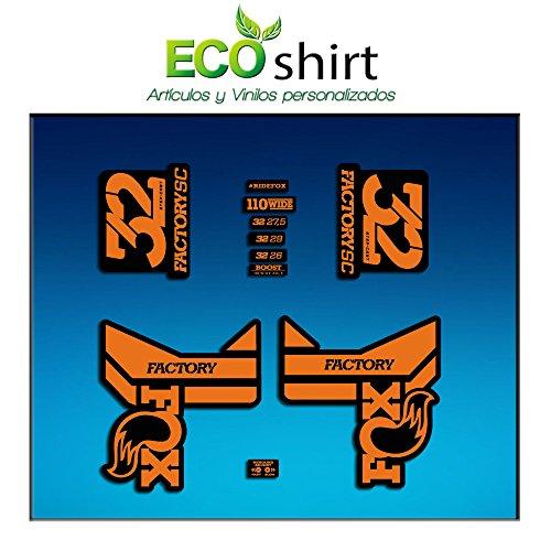 27bf47783c8 Ecoshirt LH-0AFI-2ASD Pegatinas Stickers Fork Fox 32 Factory SC Float 2017  Am87