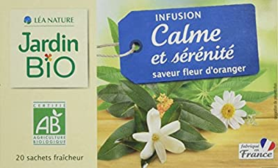 Jardin Bio Infusion Calme/Sérénité 30 g - Lot de 4