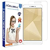 #4: CELLBELL® Xiaomi Redmi 4 Tempered Glass Screen Protector With FREE Installation Kit