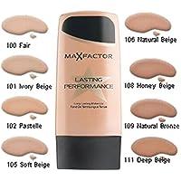 Base de maquillaje de alta duración Max Factor, más de 10 tonalidades diferentes a su