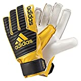 #4: Adidas Classic Junior Goalkeeper Gloves ( 8 )- Age 13-16yrs- Yellow /Black